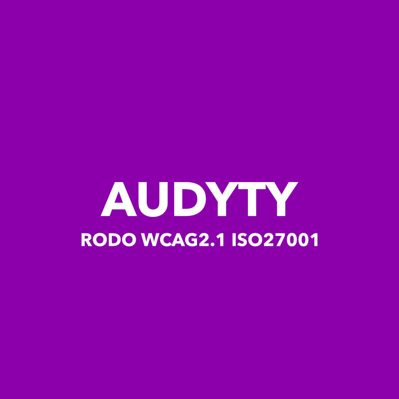 Audyty RODO WCAG